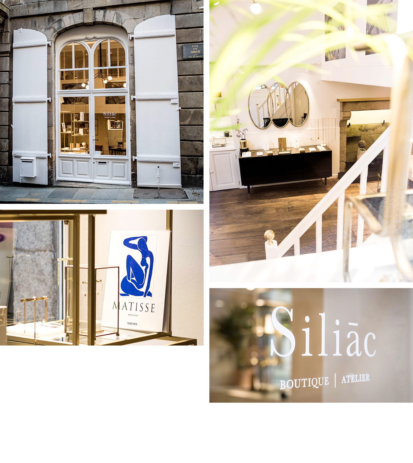 la boutique Siliac Saibnt Malo
